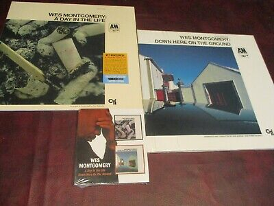 Wes Montgom Down Here On The Ground Audiophile Limited 180 Gram Lp+Bonus Cd