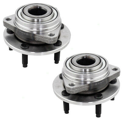 New Pair Set Front Wheel Hub Bearing Assembly 07 08 09 10 Saturn Aura
