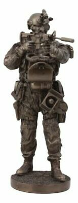 Military Collectible Navy Seal Soldier Tour of Duty Night Mission Large Statue