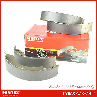 New Mintex Rear Brake Shoe Set - Mfr366