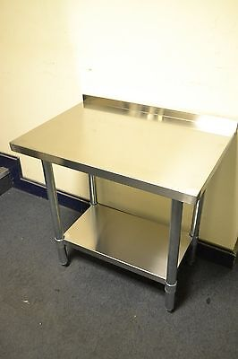 NEW S/S Machine Table 60 x 50cm for Griddle, Fryer, Bain Marie etc to put on top