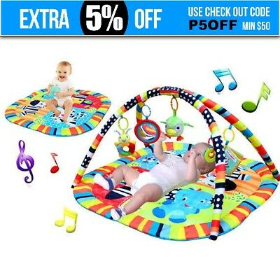 Baby Mobile soft Space Toy Play Mat Activity Symphony Motion Gym