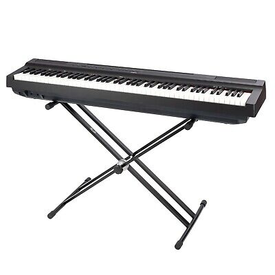 Opus LMS19B Double Braced X-Frame Keyboard Stand in Black