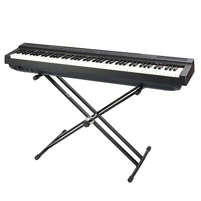 Opus LMS19B double braced X0frame keyboard stand in black