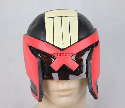 JUDGE DREDD HELMET  2012  props movie Adult Costume