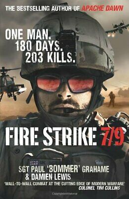 Fire Strike 7/9 by Lewis, Damien Hardback Book The Cheap Fast Free Post