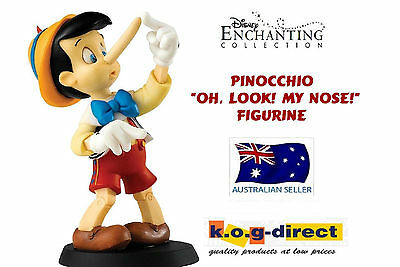 Enesco Disney Enchanting Collection Oh Look My Nose Pinocchio Figurine In Box