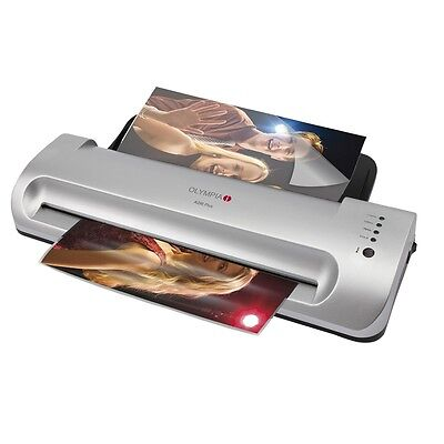 Professional Laminating machine A4 Format Olympia A 296 plus backloader