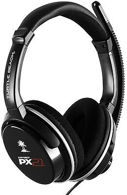Turtle Beach Ear Force PX21 Gaming Headset for Playstation 3 PS 4 Xbox 360 & PC