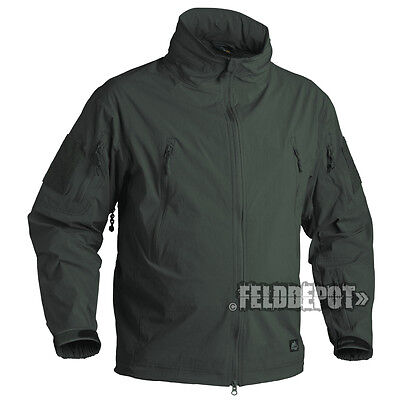 Helikon Tex Trooper Jacket Soft Shell Jungle Green Outdoor Jacke
