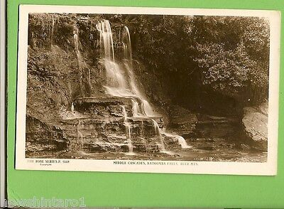 #G.   Postcard -  Middle Cascades, Katoomba Falls, Blue Mountains, Nsw