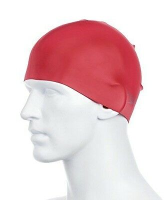 Speedo Moulded Bonnet Rouge [TU] [Rouge] - Silicone has become an NEUF