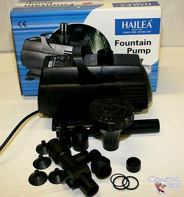 8000 Lt Hx8890F Immersible Inline Water Pump Koi Pond Fountain