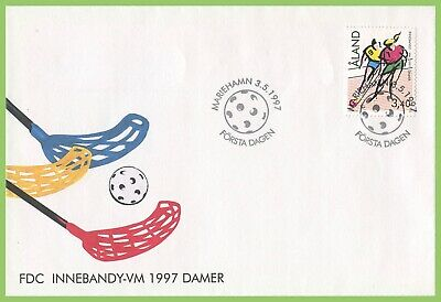 Aland 1997 Womens Football First Day Cover