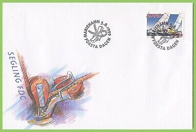 Aland 1999 Sailing First Day Cover