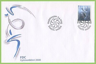 Aland 2000 Gymnastics Exhibition First Day Cover