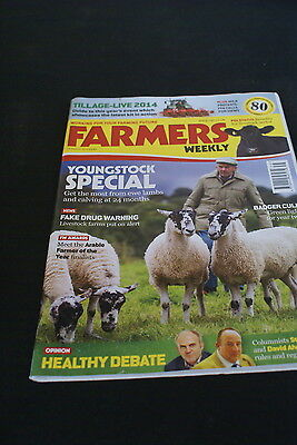 Farmers Weekly 29 August 2014 Youngstock Special, Fake Drug Warning