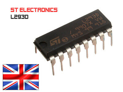 Stepper Motor Driver SN754410 Atmega Arduino L293D L293 H-Bridge - UK Fast Post