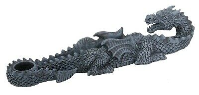 Dinosaur Dragon Incense Burner Holder Aromatherapy Sculpture Collection Summit