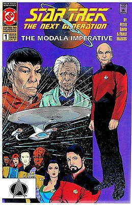Star Trek The Next Generation The Modala Imperative No.1-4 / 1991 Kompl. Serie