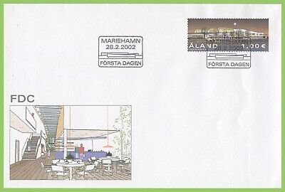 Aland 2002 New Post Terminal First Day Cover