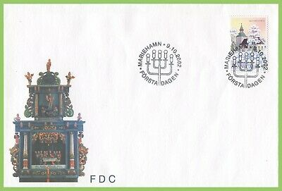 Aland 2002 Saltvik Church First Day Cover