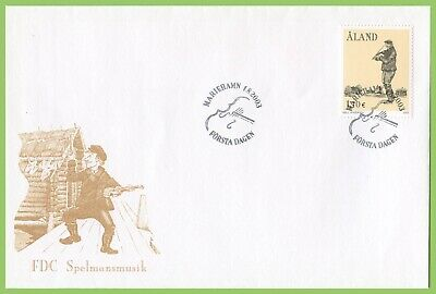 Aland 2003 Folk Music Association First Day Cover