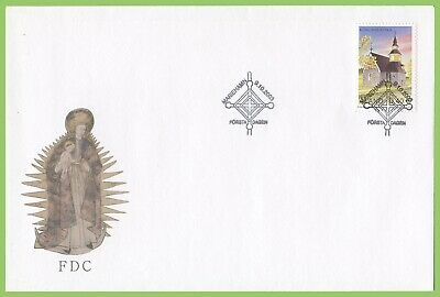 Aland 2003 Kumlinge Church First Day Cover