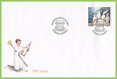 Aland 2003 St Lucia Celebrations First Day Cover