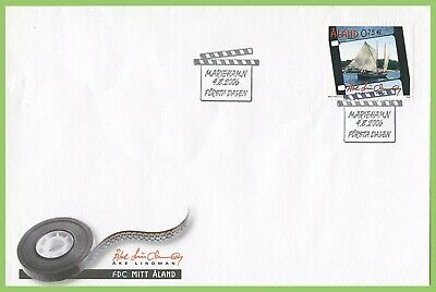 Aland 2006 'My Aland, Lindman Ship First Day Cover