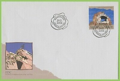 Aland 2006 Demiltarization First Day Cover