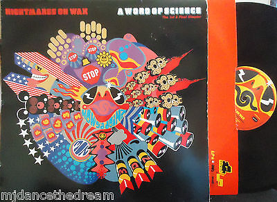 NIGHTMARES ON WAX ~ A Word Of Science 1st & Final Chapter ~ VINYL LP