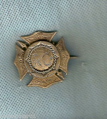 #d180.  1891 Prize Award  Lapel Badge To R. Cox