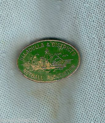 #d180.  Ulladulla & Districts   Netball  Association  Lapel Badge
