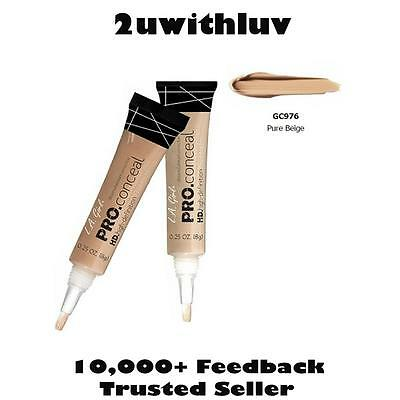 La Girl Pro Conceal Concealer Pure Beige Gc976 Auth Fr U.s. - Authorised Seller