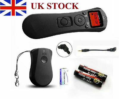Digital Wireless Timer Shutter Release Remote for Canon EOS 1D 5D Mark III 6D 7