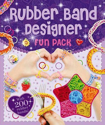 Rubber Band Designer New Hardcover Book
