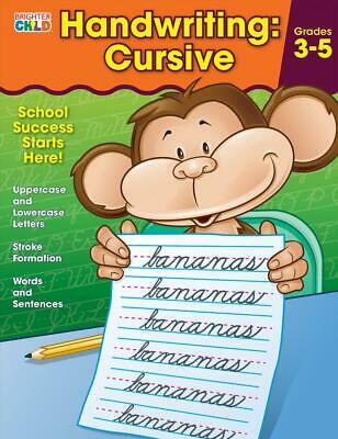 Handwriting: Cursive Workbook by Brighter Child (English) Paperback Book Free Sh