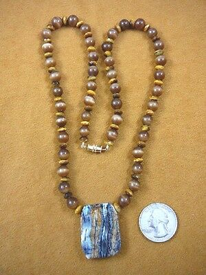 """(v819) 1-1/4"""" Rare EXTINCT Fossil Siberian Woolly Mammoth TOOTH pendant necklace"""