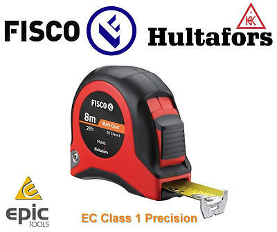 FISCO 8m CLASS 1 Precision Professional Metric/Imperial Tape Measure PR8ME