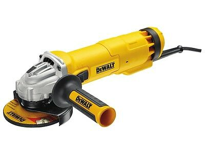 "DEWALT Powerful 1010w 115mm (4 1/2"") Mini Angle Cutter Grinder 240v, DWE4206"