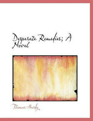 Desperate Remedies; A Novel by Thomas Hardy (English) Paperback Book Free Shippi