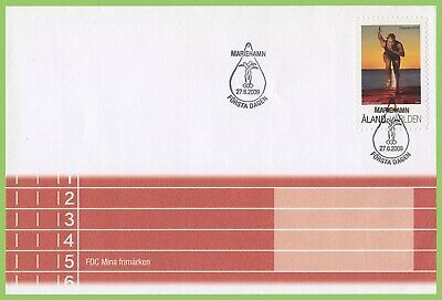 Aland 2009 Island Games First Day Cover