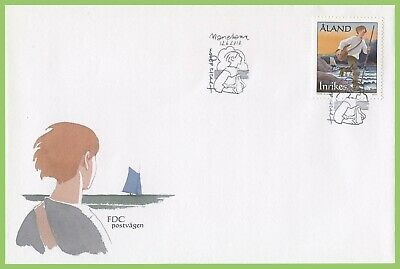 Aland 2010 Early mail Delivery First Day Cover