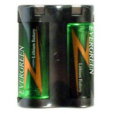 Evergreen 2CR5 245 6V Photo Lithium Battery Replaces 2CR5 DL245 EL2CR5 2CR5M