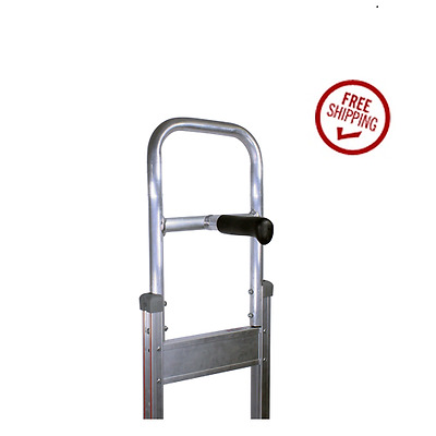 B&P Mfg. Hand Truck Replacement Single Pin & Flat Top Handle with Brake Pivot