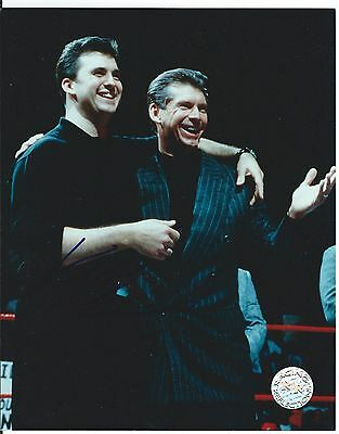 Vince McMAHON Signed WWE 8x10 Photo