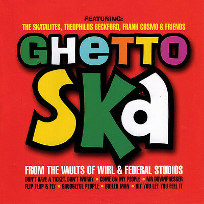 Ghetto Ska - From The Vaults Of Wirl & Federal Studios VINYL LP NEW £10.99