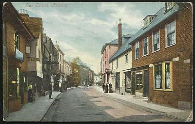 Hitchin. Sun Street by Valentine's.