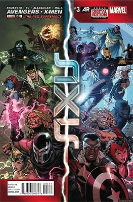 Avengers X- Men Axis #3 (NM)`14 Remender/ Yu